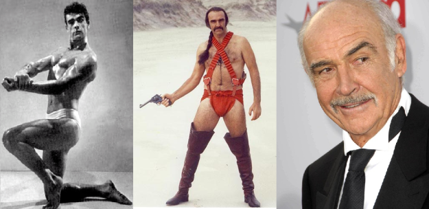 Sean Connery Mr Universe
