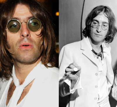 Liam Gallagher and John Lennon