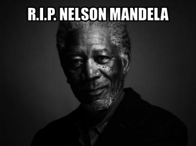 R.I.P. Mandela